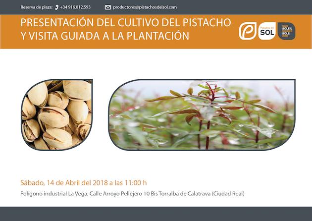 Presentación del cultivo del pistacho
